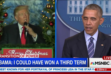 Would Obama have beaten Trump?