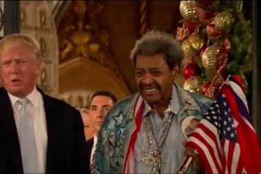 Don King on Trump: He shocked the world