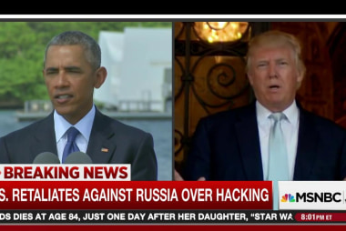 Obama spurns Trump call to 'move on' from...