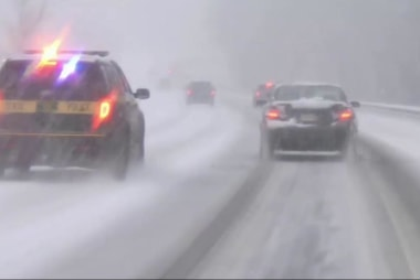 Powerful nor'easter slams New England