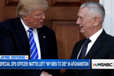 Trump to bring on Mattis as Secretary of...