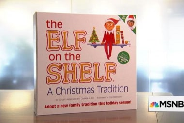 Learning from the pros: The Elf on the Shelf