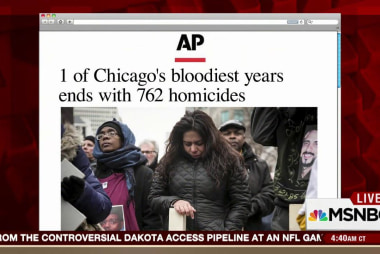 Over 700 homicides in Chicago in 2016