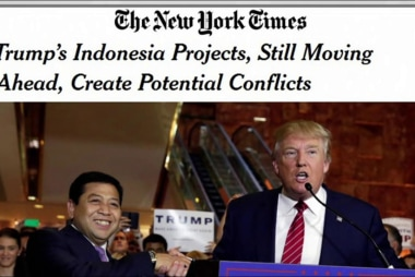 NYT: Trump's Indonesia projects create...