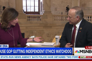 King: Would repeal ethics office 'completely'