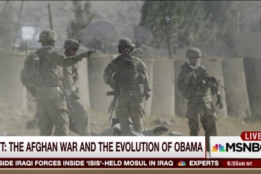 The Afghan war and the evolution of Obama