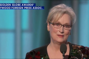 Trump's 'hit back' reflex turns to Streep