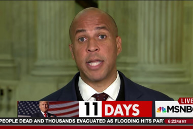 Booker to testify against colleague Sessions