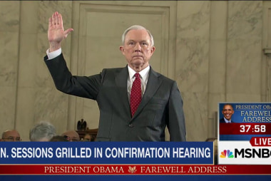 Sessions grilled in hearing