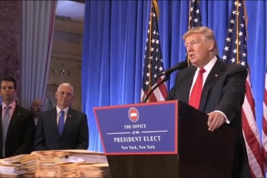 Experts on Trump's proposed business plan:...