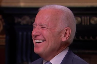 Biden: 'No regrets' about not running in 2016