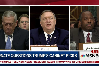 Trump's words vs. his Cabinet nominees' words