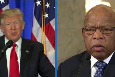 Trump attacks civil rights icon John Lewis