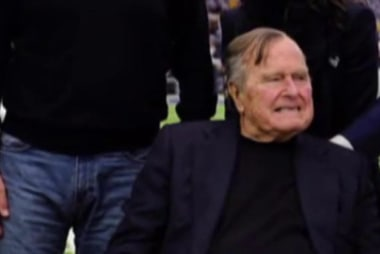 President George HW Bush, wife hospitalized