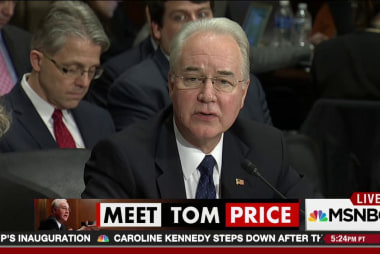Price grilled about questionable stock trades