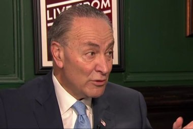 Schumer: I'm excited; I'm ready for the fight