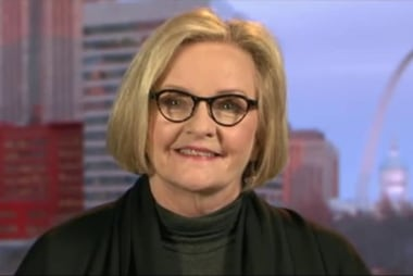 McCaskill on women's march: I hope Trump...