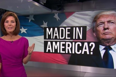 Will Trump makes his own products in the US?