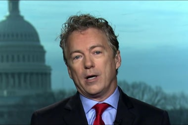 Rand Paul: There is a clear problem with...