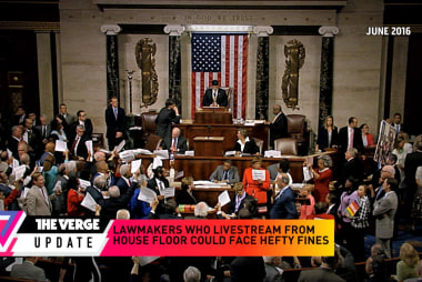 Hefty fines for lawmakers who livestream