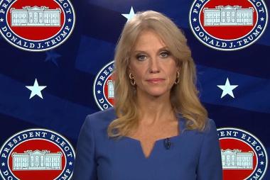 Kellyanne Conway: We were proven right...