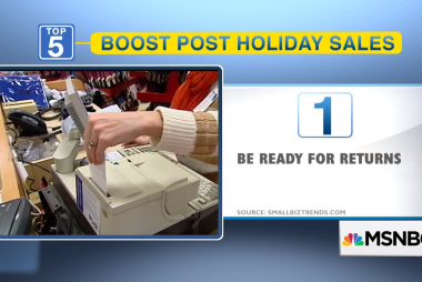 5 ways to boost your post-holiday sales