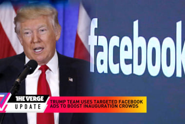 Trump team uses Facebook ads to boost crowds