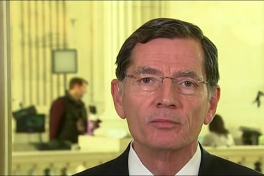 Sen. Barrasso 'delighted' by confusion...