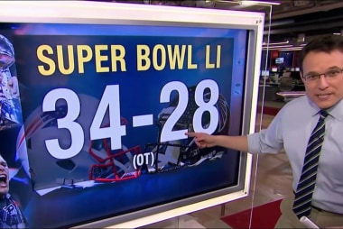 Patriots make Super Bowl history in...