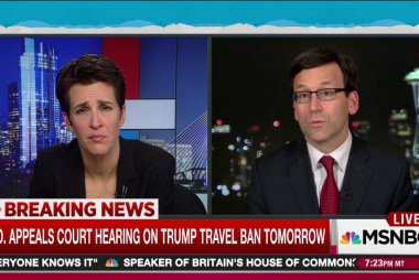 Trump loses first legal round on travel ban