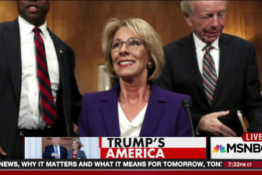 What can Betsy DeVos do to American schools?