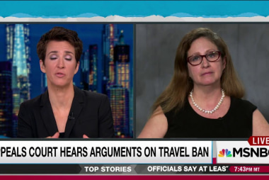 Fate of Trump travel ban considered by court