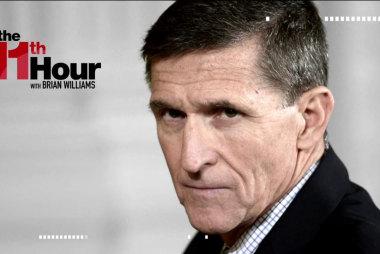 Rachel Maddow: Flynn resignation 'almost...