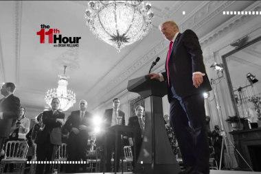 Talking Russia, Pres. Trump brings up ...