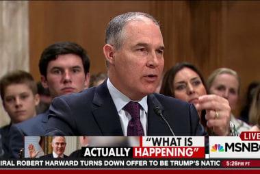 Scott Pruitt won't get a warm welcome at EPA