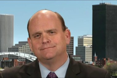 Rep. Tom Reed responds to upset...