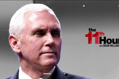 Reporter to Pence: Should European leaders...
