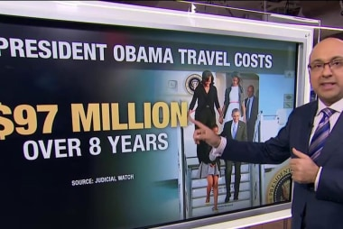 Trump's trips to Florida costing taxpayers...