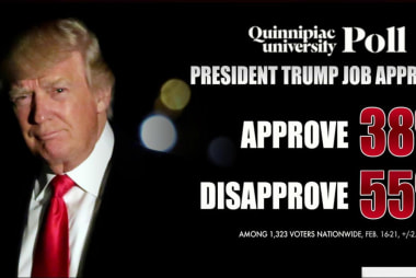 Trump approval slips, but are the numbers...