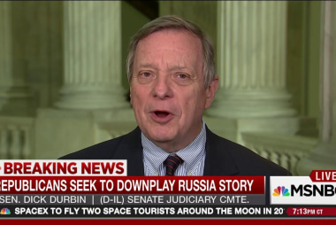 Sen. Durbin: GOP trying to bury Russia...