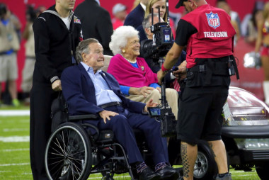 The importance of Bush 41 at the Super Bowl