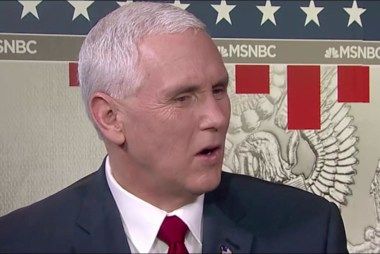 Mika to VP Pence: Is the war on the media...