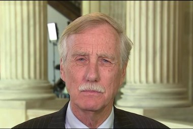 Sen. Angus King: Very serious to charge...