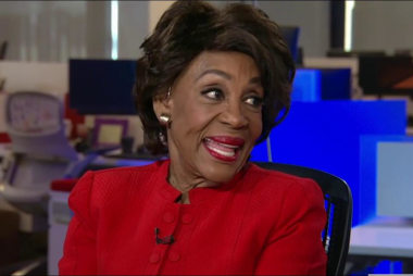 One on one with Rep. Maxine Waters