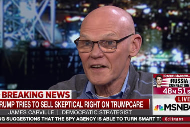 Carville: It won't be easy to sell ...