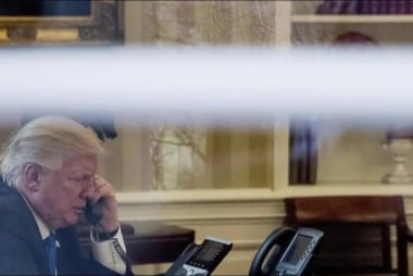 'Everybody knows' Trump's phone not tapped