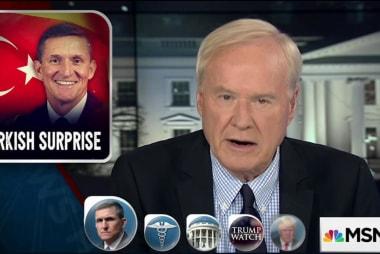Flynn's foreign ties shake Trump...