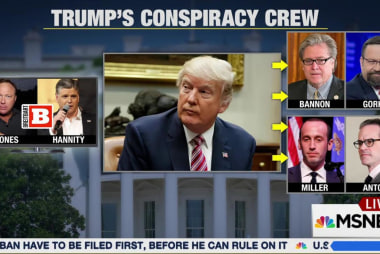 Donald Trump's conspiracy theories