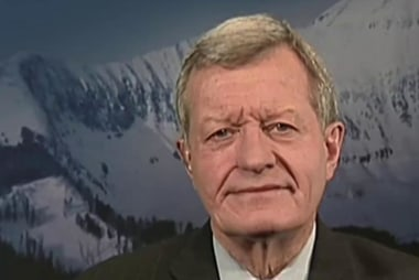 Max Baucus: North Korea is 'nearly an...