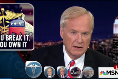 Chris to Trump on healthcare: You break it...